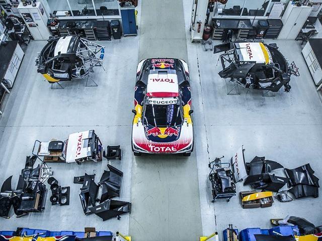 La Peugeot 3008 DKR au Dakar 2017 – Assemblage et préparation du modèle