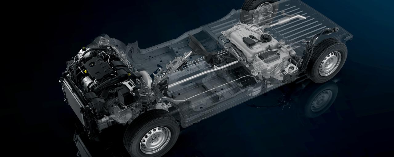 La plateforme du nouveau PEUGEOT Partner vous apporte un plaisir de conduire intense avec une maniabilité et un comportement dynamique de haut niveau avec les aides à la conduite de dernière génération.