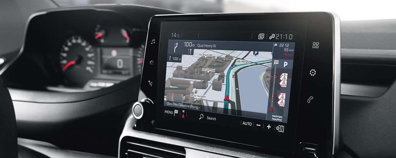 Avec le nouveau PEUGEOT Partner, bénéficiez des aides à la conduite (ADAS) de dernière génération.