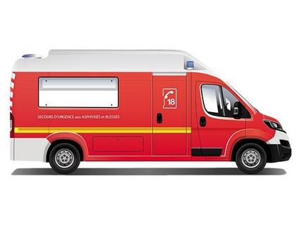 Peugeot emergency vehicle