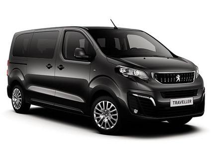 Peugeot vehicle dedicated to passenger transport