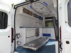 Peugeot ambulance vehicle - Interior