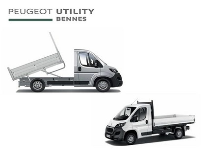 Peugeot Utility tipper vehicle