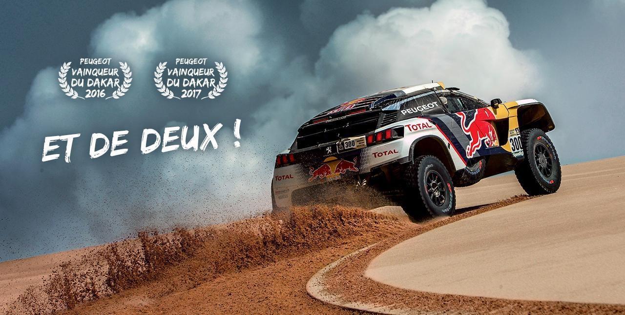 Peugeot vainqueur du Dakar 2017