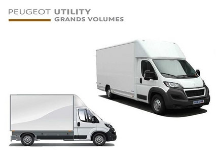 Peugeot Utility large-volume vehicle