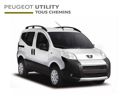 Peugeot Utility vehicle: off-road van