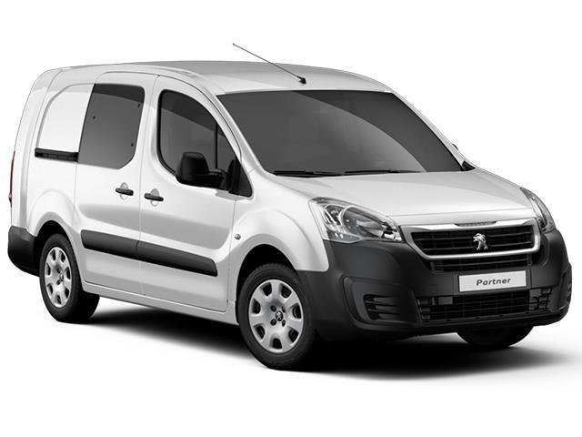 Peugeot Utility crew cab model