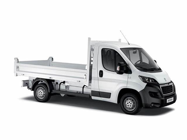 Peugeot Utility tipper truck - Down