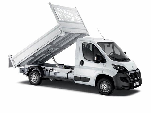 Peugeot Utility tipper truck - Up
