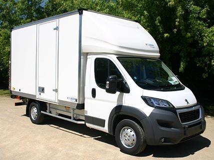 Peugeot Boxer van high-volume parcel transport