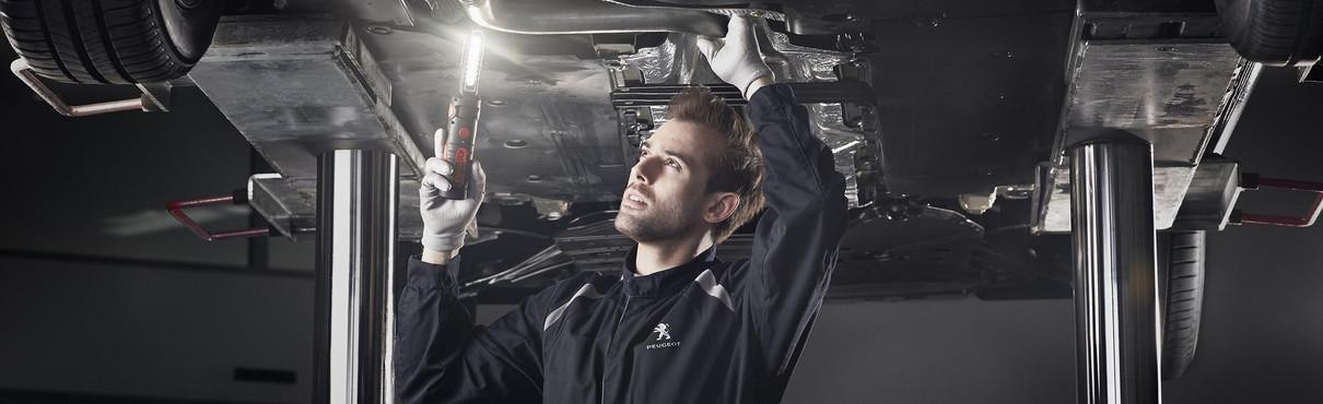 Services après-vente véhicule professionnel Peugeot