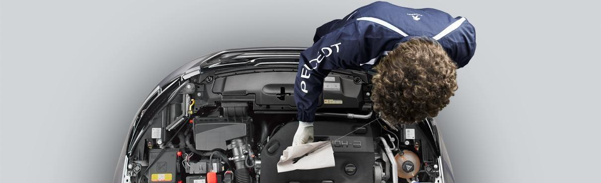 Forfaits entretien tout compris véhicule professionnel Peugeot