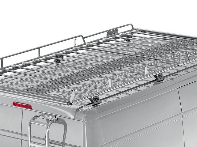Accessoire chargement de toit véhicule professionnel