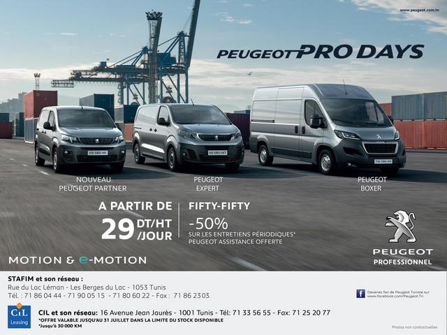 Les PEUGEOT PRO DAYS