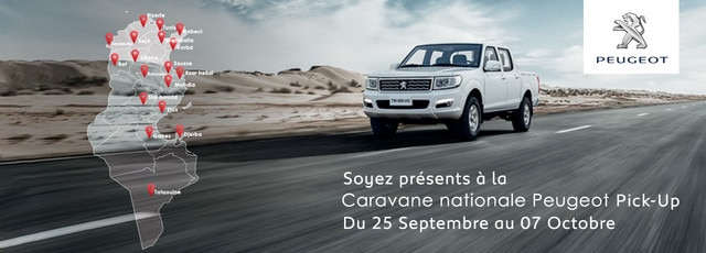 caravane pick up