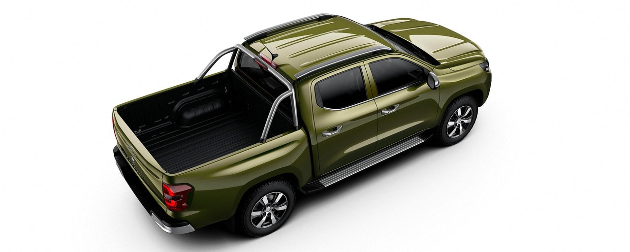 Nouveau pick-up PEUGEOT LANDTREK Multipurpose 4x4 double cabine loisirs loisir outdoor plein-air famille