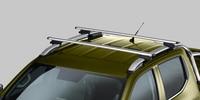Nouveau pick-up PEUGEOT LANDTREK : jeux de barres de toit sur barres longitudinales