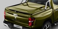 Nouveau pick-up PEUGEOT LANDTREK : couvercle rigide sur benne