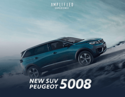PEUGEOT Amplified Experience : discover the New Peugeot 5008 with our 360 experience