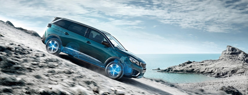 Nouveau SUV PEUGEOT 5008 : Hill Assist Descent Control