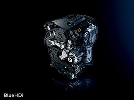 Nouveau SUV PEUGEOT 5008 : Moteurs Diesel BlueHDi Euro6