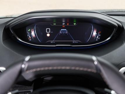 Peugeot i-cockpit combiné tête haute