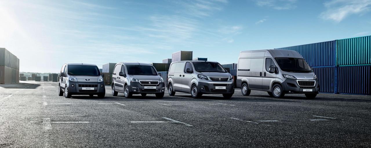 Peugeot - Configurez votre véhicule utilitaire