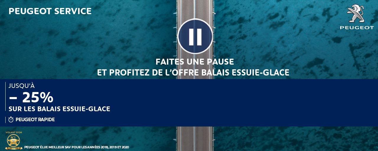 PROMO BALAIS ESSUIE-GLACE